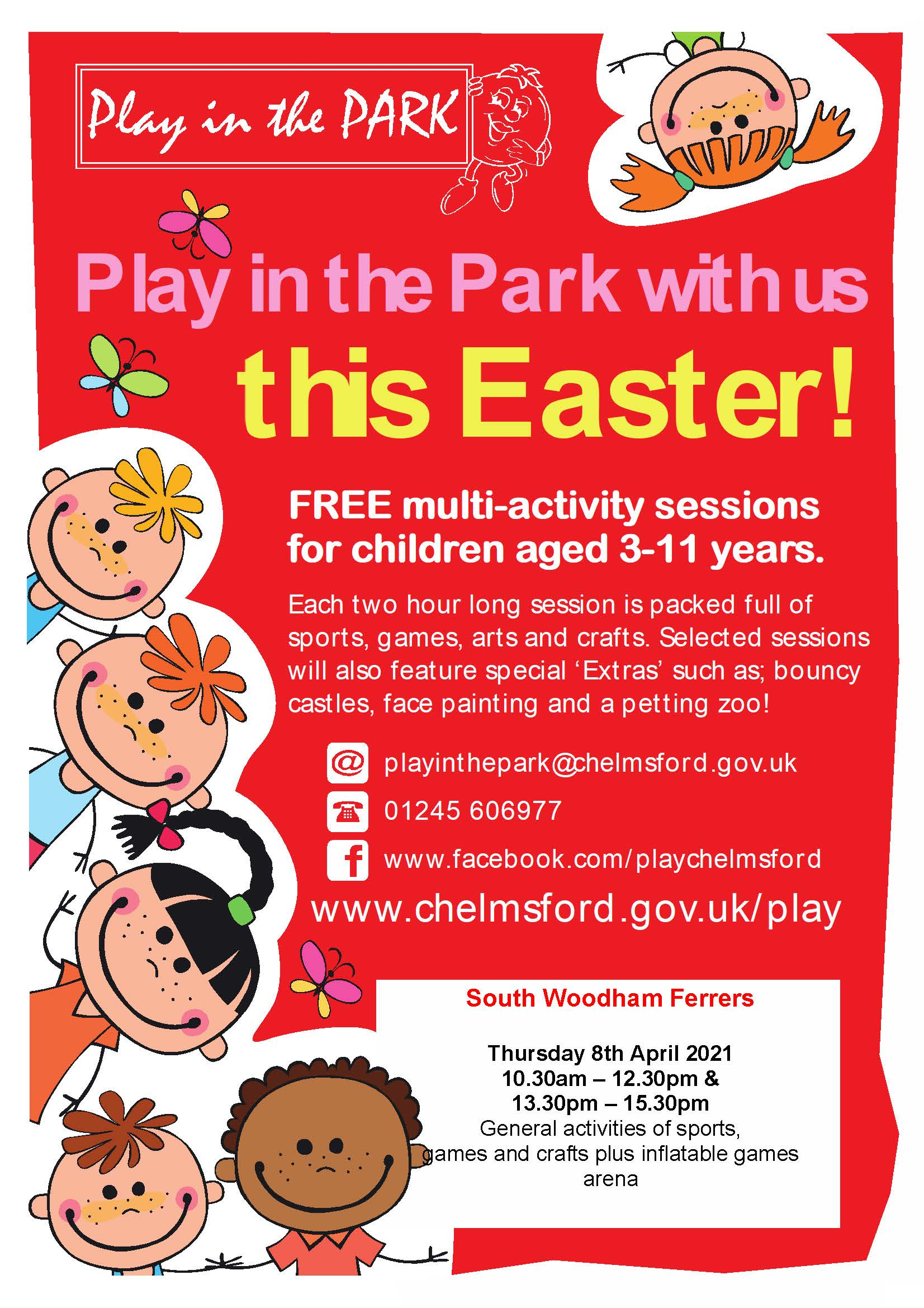 Easter Play in the Park